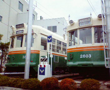 旧京都市電車両