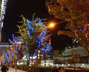 冬の梅田・夜景