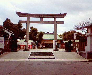 生國魂神社(生国魂神社)