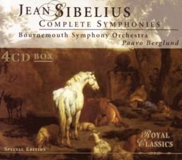 ベルグルンド指揮ボーンマス交響楽団 「シベリウス交響曲全集」 チェスキー盤ジャケット