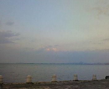 琵琶湖夕景(1)