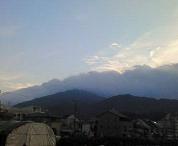 早朝の比叡山