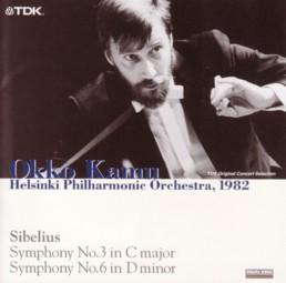 オッコ・カム指揮ヘルシンキ・フィル シベリウス交響曲第3番&第6番