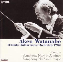 渡邉暁雄指揮ヘルシンキ・フィル シベリウス交響曲第4番&第7番