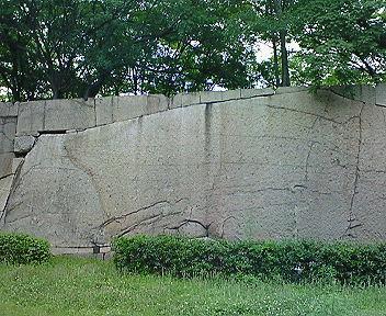 大阪城 肥後石
