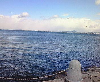 3月11日の琵琶湖