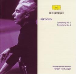 ヘルベルト・フォン・カラヤン指揮ベルリン・フィル ベートーヴェン交響曲第2番&第4番(1960年代)