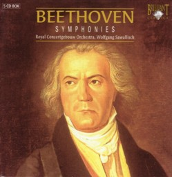 ウォルフガング・サヴァリッシュ指揮ロイヤル・コンセルトヘボウ管弦楽団 「ベートーヴェン交響曲全集」(ブリリアント・クラシックス盤)