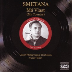 ヴァーツラフ・ターリヒ指揮チェコ・フィルハーモニー管弦楽団 スメタナ 「連作交響詩「わが祖国」(NAXOSヒストリカル盤)