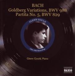 グレン・グールド J・S・バッハ 「ゴルトベルク変奏曲」(1955年盤 NAXOSヒストリカル)