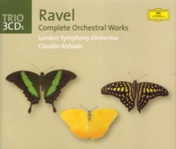 クラウディオ・アバド指揮ロンドン交響楽団 「ラヴェル管弦楽作品全集」