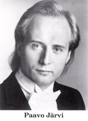 若き日のパーヴォ・ヤルヴィ氏