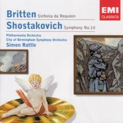 サイモン・ラトル指揮 ショスタコーヴィチ交響曲第10番&ブリテン鎮魂交響曲
