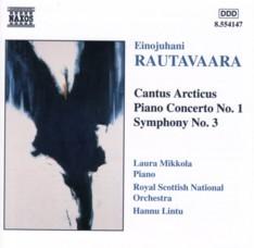 ラウタヴァーラ 「カントゥス・アークティクス」ほか ハンヌ・リントゥ指揮ロイヤル・スコティッシュ・ナショナル管弦楽団
