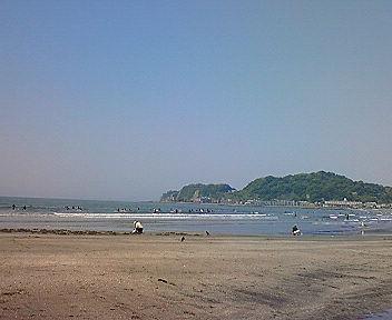 鎌倉・由比ヶ浜の海1