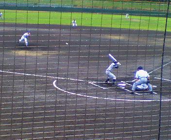 雨のスポーツ観戦