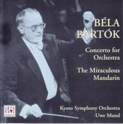 ウーヴェ・ムント指揮京都市交響楽団 バルトーク 管弦楽のための協奏曲&「中国の不思議な役人」組曲