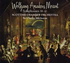 サー・チャールズ・マッケラス指揮スコットランド室内管弦楽団 モーツァルト 交響曲第38番~41番