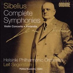 レイフ・セーゲルスタム指揮ヘルシンキ・フィルハーモニー管弦楽団 「シベリウス交響曲全集」