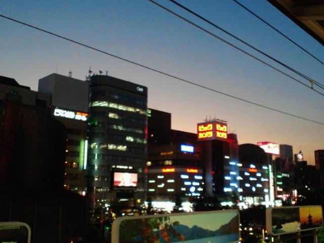 名古屋夕景