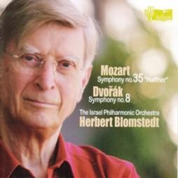 ヘルベルト・ブロムシュテット指揮イスラエル・フィルハーモニー管弦楽団 モーツァルト交響曲第35番「ハフナー」&ドヴォルザーク交響曲第8番