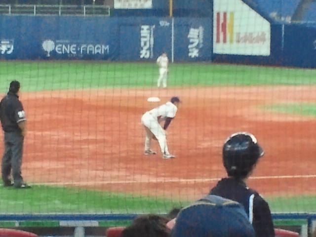 東京ヤクルトスワローズ三塁手・宮本慎也