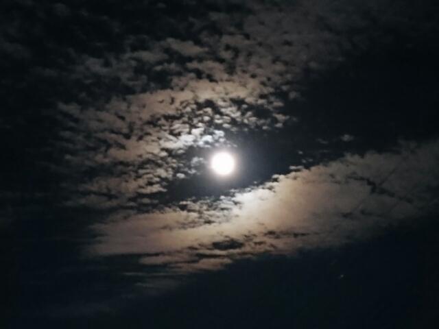 雲の月 平成二十七年中秋