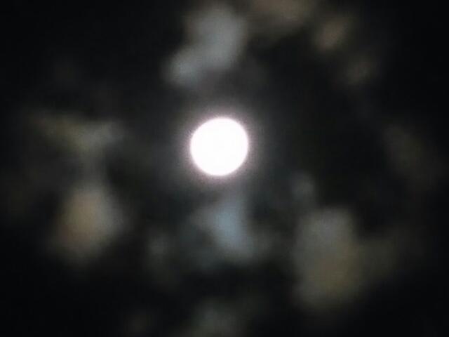 月天心 スーパームーン