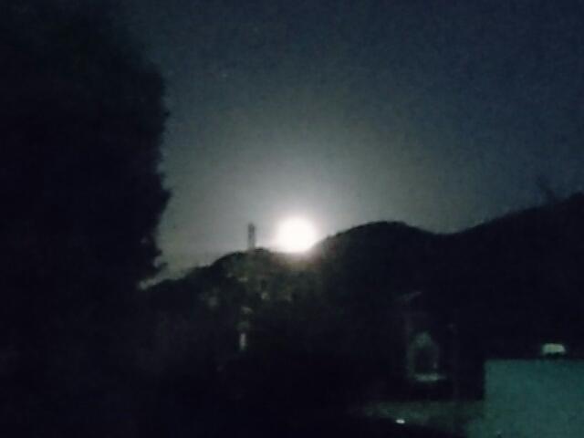 山の端の月