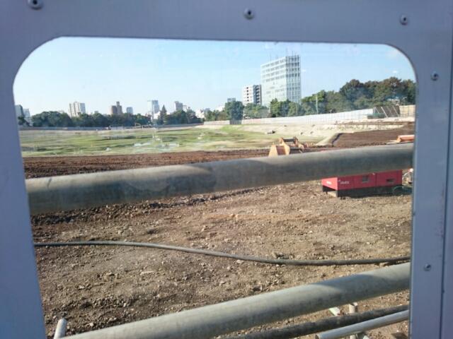 現在の国立霞ヶ丘競技場跡