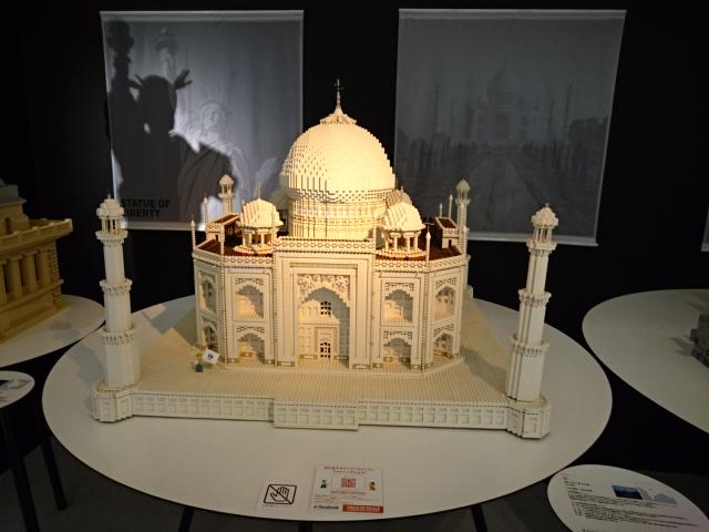 LEGOブロックで作った世界遺産 タージ・マハール