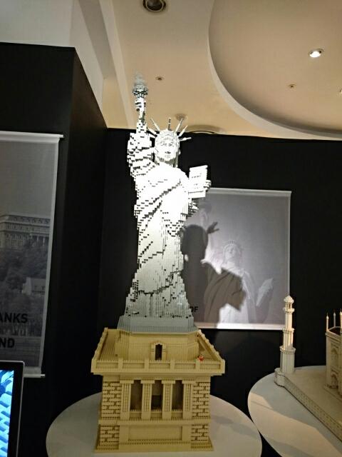 LEGOブロックで作った世界遺産 自由の女神