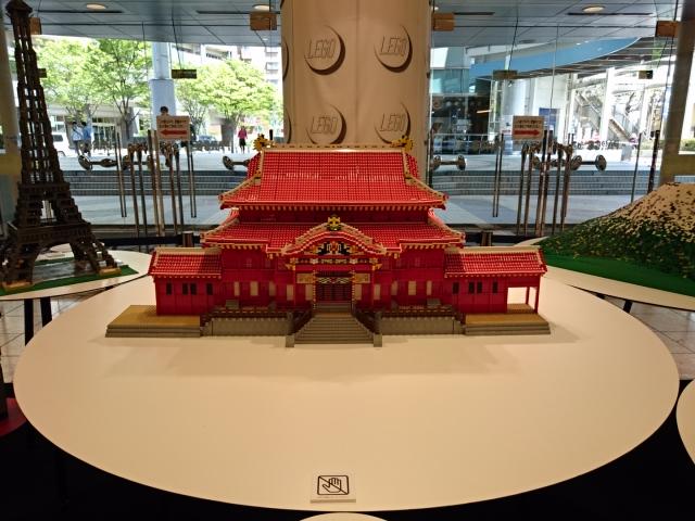 LEGOブロックで作った世界遺産 首里城