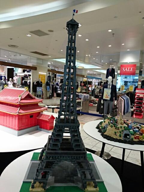 LEGOブロックで作った世界遺産 エッフェル塔