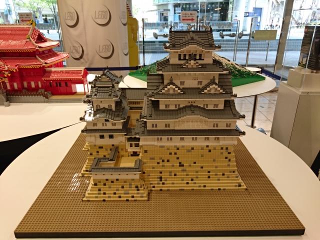 LEGOブロックで作った世界遺産 姫路城天守