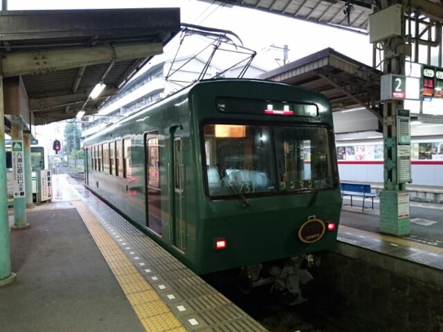 叡山電車レトロ車両