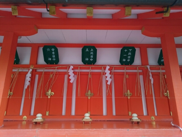 吉田神社大元宮 下総国、上総国、安房国の神々
