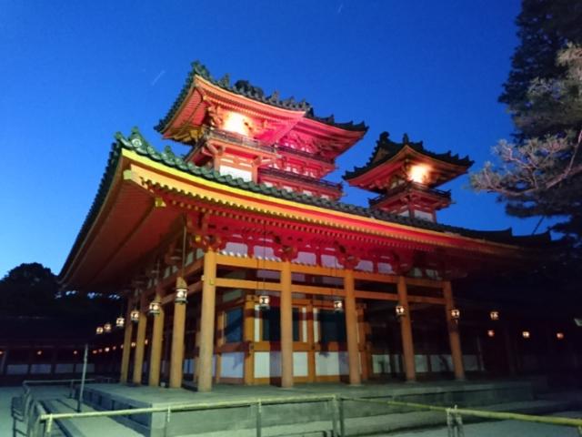 平安神宮夜間拝観2