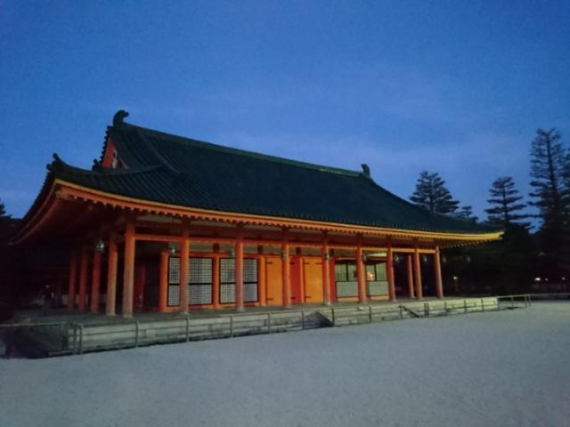 平安神宮夜間拝観3