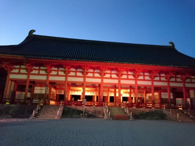平安神宮夜間拝観6