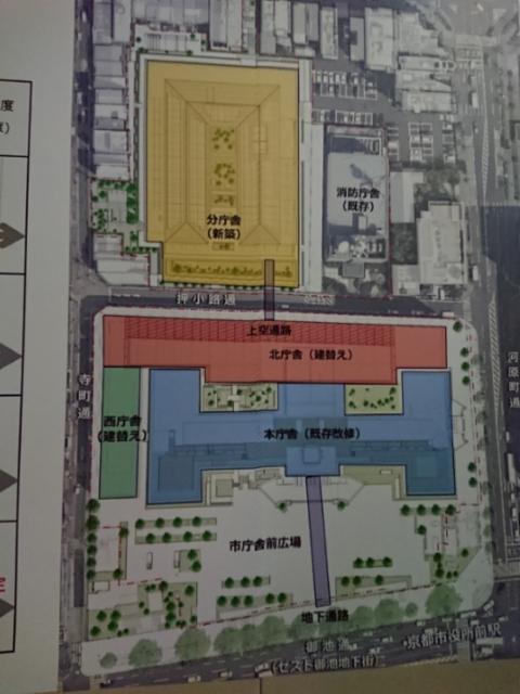 京都市役所改修計画