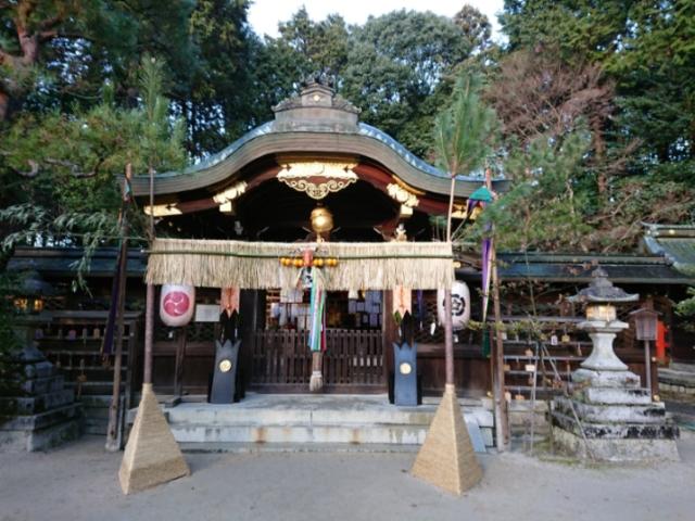 八大神社にて