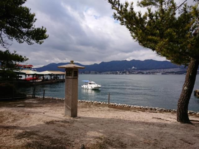 海の写真集 安芸の宮島(1)