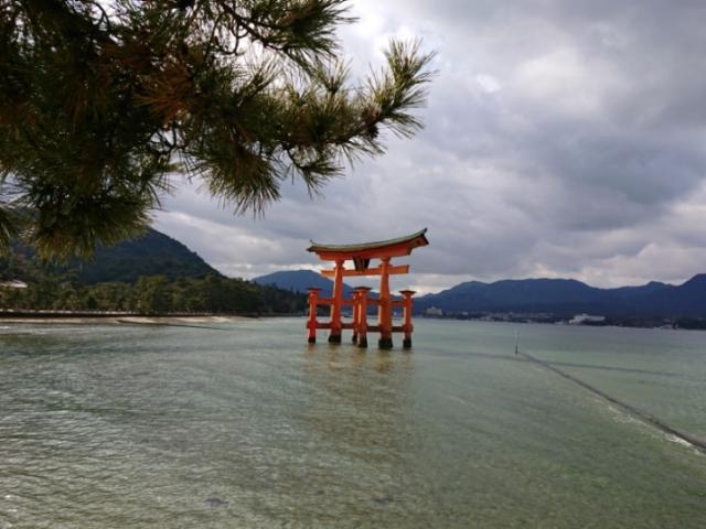海の写真集 安芸の宮島(3)