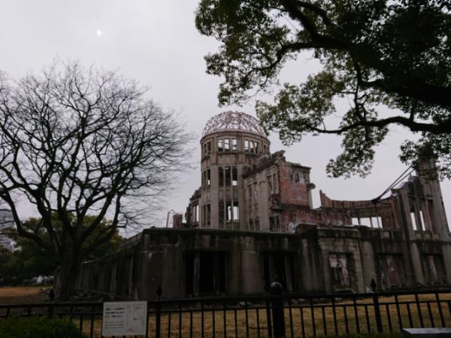 原爆ドーム2018・1・28