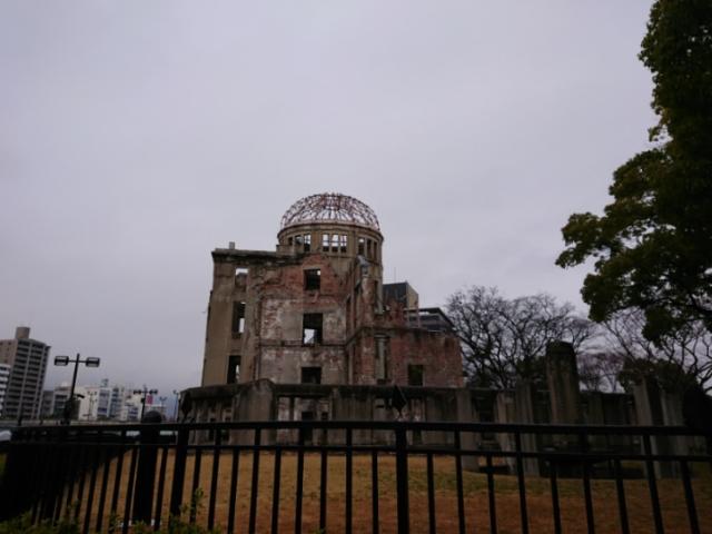 原爆ドーム 2018・1・28(5)