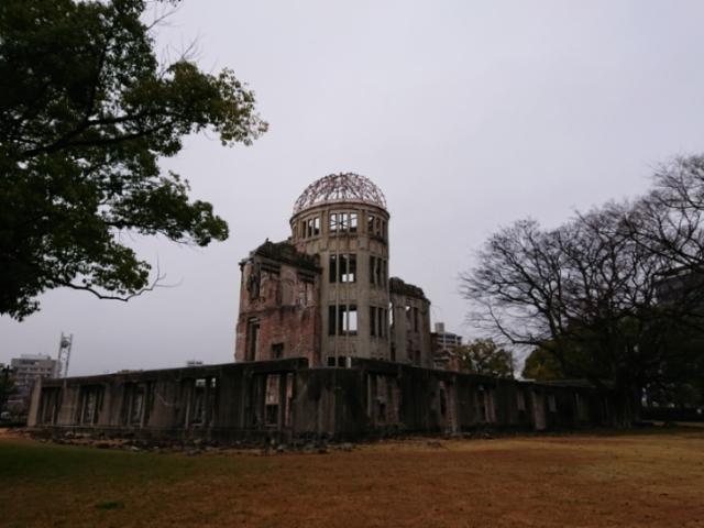 原爆ドーム 2018・1・28(6)