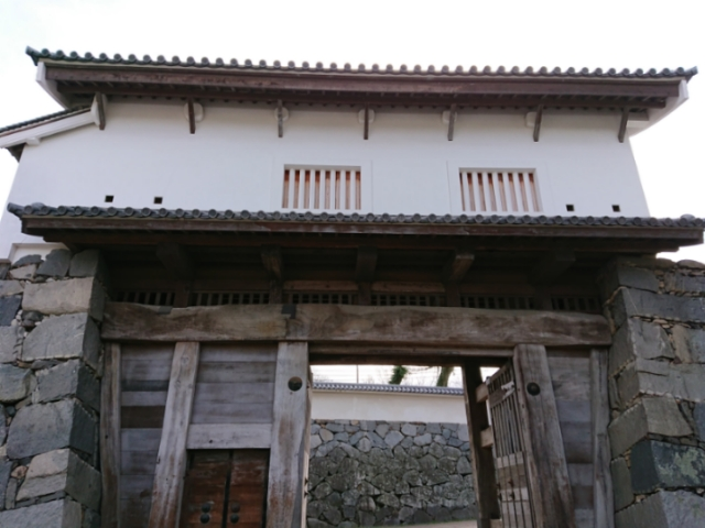 福岡城 下之橋御門