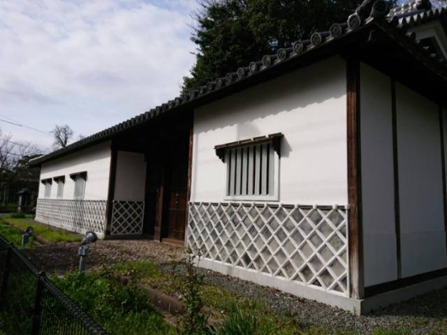 福岡城三の丸 旧母里太兵衛邸長屋門