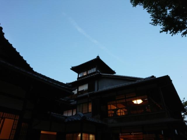旧三井家下鴨別荘夜間特別開館(1)